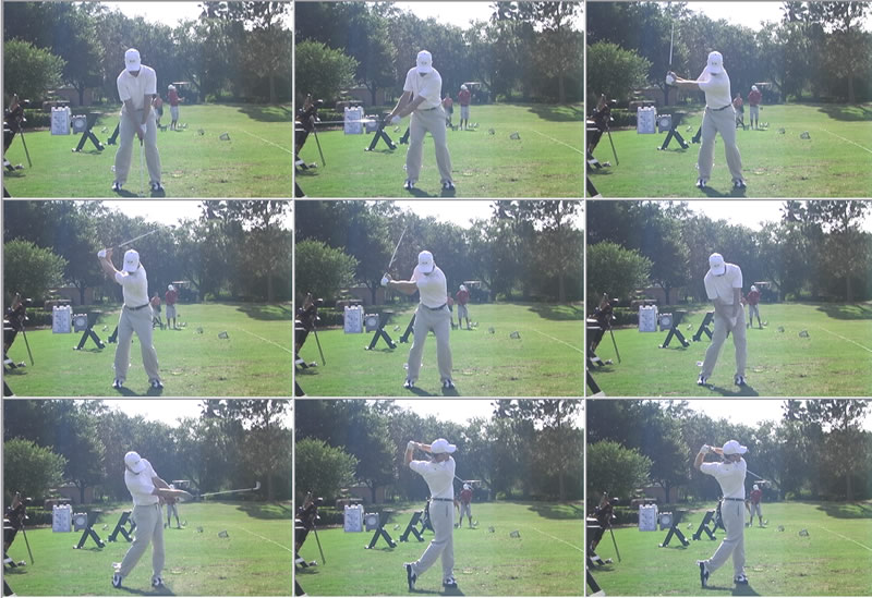 Golf Iron Swing Sequence 28 Images